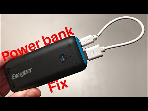 How to repair power bank not charging solved