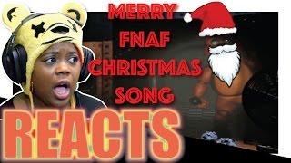 fnaf christmas song   jt machinima   aychristene reacts