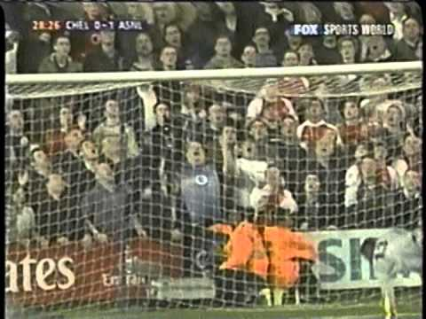 2003 (March 25) Chelsea 1 -Arsenal 3 (English FA Cup)- Quarterfinals replay