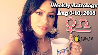 Weekly Horoscope for Aug 3rd-10th, 2018 & Celebrity Coffee Talk! | Demi Lovato