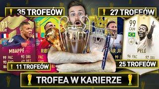 TROFEA W KARIERZE DECYDUJĄ W DRAFCIE! | FIFA 19