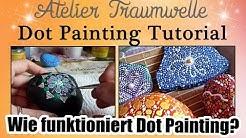 Dot Painting Tutorial: Wie funktioniert Dot Painting?
