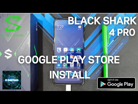 How to Install Google Play Store on your Black Shark 4 and Black Shark 4 Pro and other Xiaomi Phones