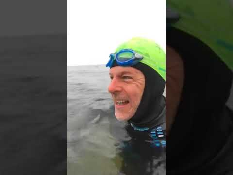 Post Swim: Epic Charity Challenge Normandy Update: Dec. 10th 2017 -- Jeff Grant