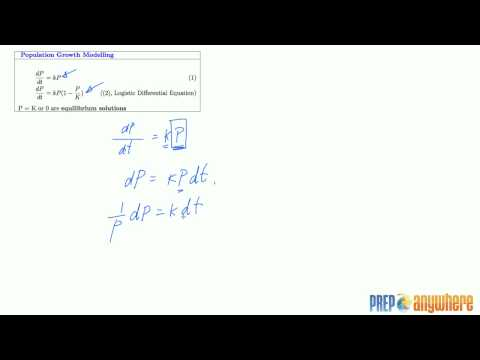 9.1 Modelling with Differential Equations Lecture 1