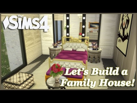 The Sims 4 - Let's build a Family House (Part 8) Realtime