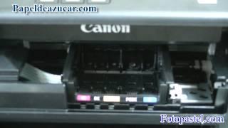 Como sacar el cabezal de una impresora canon MG5550