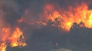 Tovább tombol a kaliforniai erdőtűz