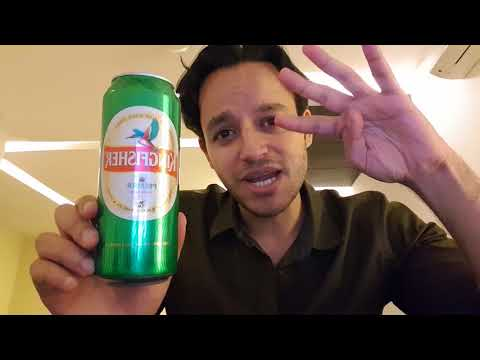 Kingfisher Premier Can Beer Review In Hindi!