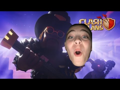 Rock On Party King! (Clash of Clans 8th Anniversary) REACTION