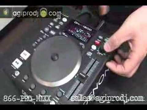 Denon DN-S1200 CD/MP3/USB/MIDI Media Controller