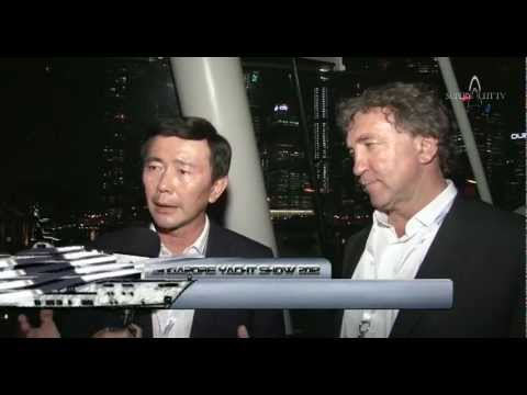 2012 Singapore Yacht Show - The future of Superyachting in Asia (Superyacht TV)