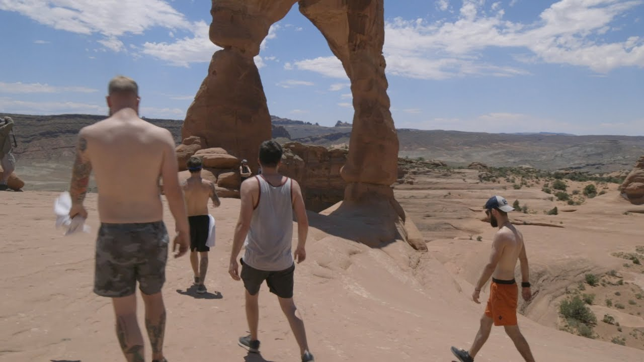 Our Last Night Goes Hiking At Arches National Park
