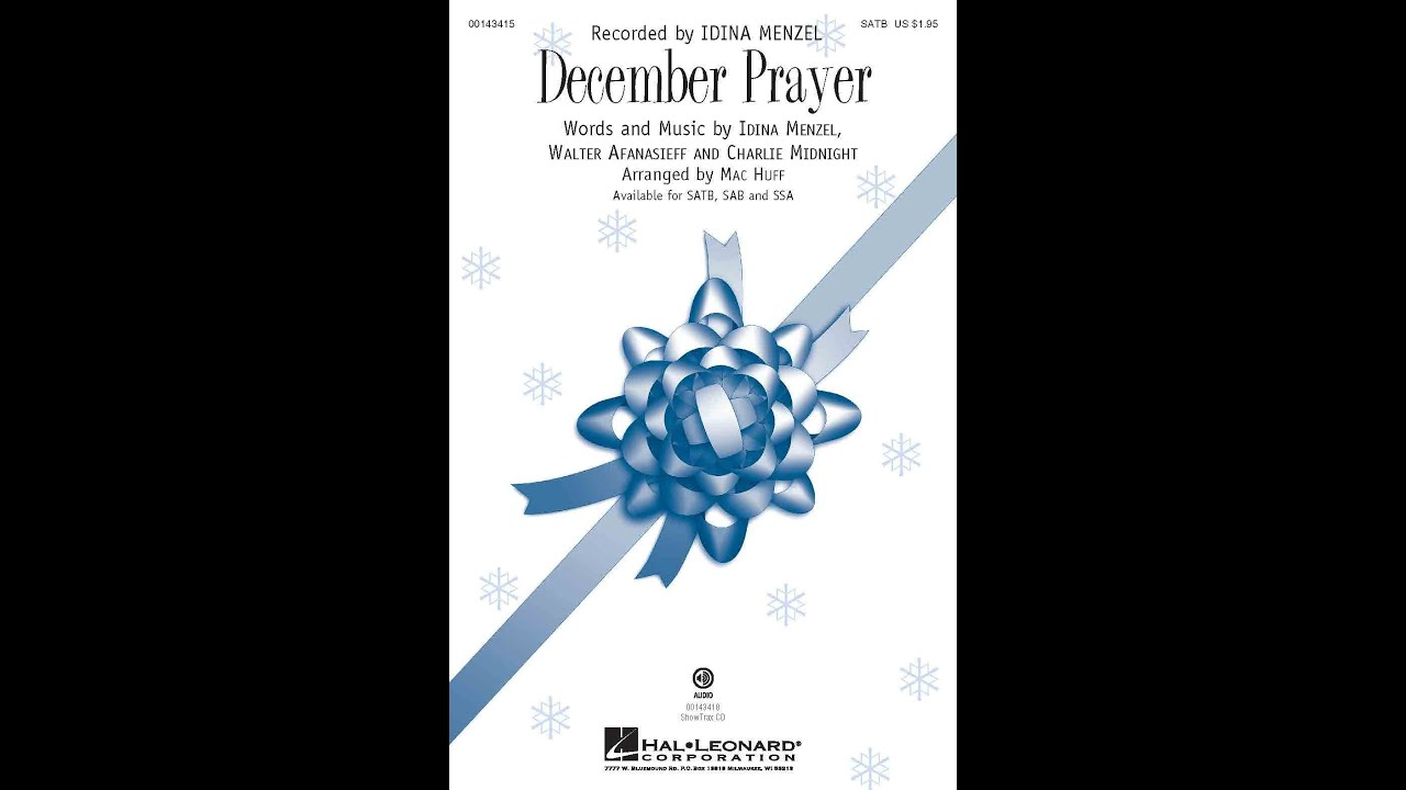 December Prayer - Arranged by Mac Huff - YouTube