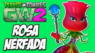 Plantas vs Zumbis Garden Warfare 2 - Rosa NERFADA, Ficou HORRIVEL