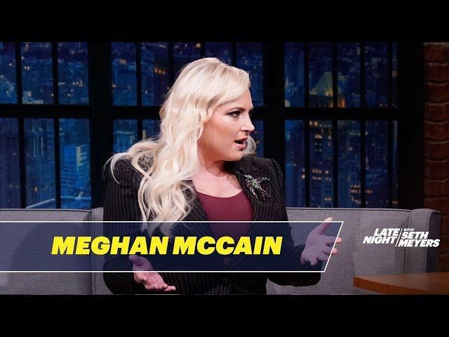 Meghan McCain's Husband Called Seth Meyers a