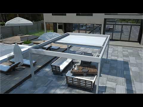 Helioscreen Flat All Seasons Retractable Roof