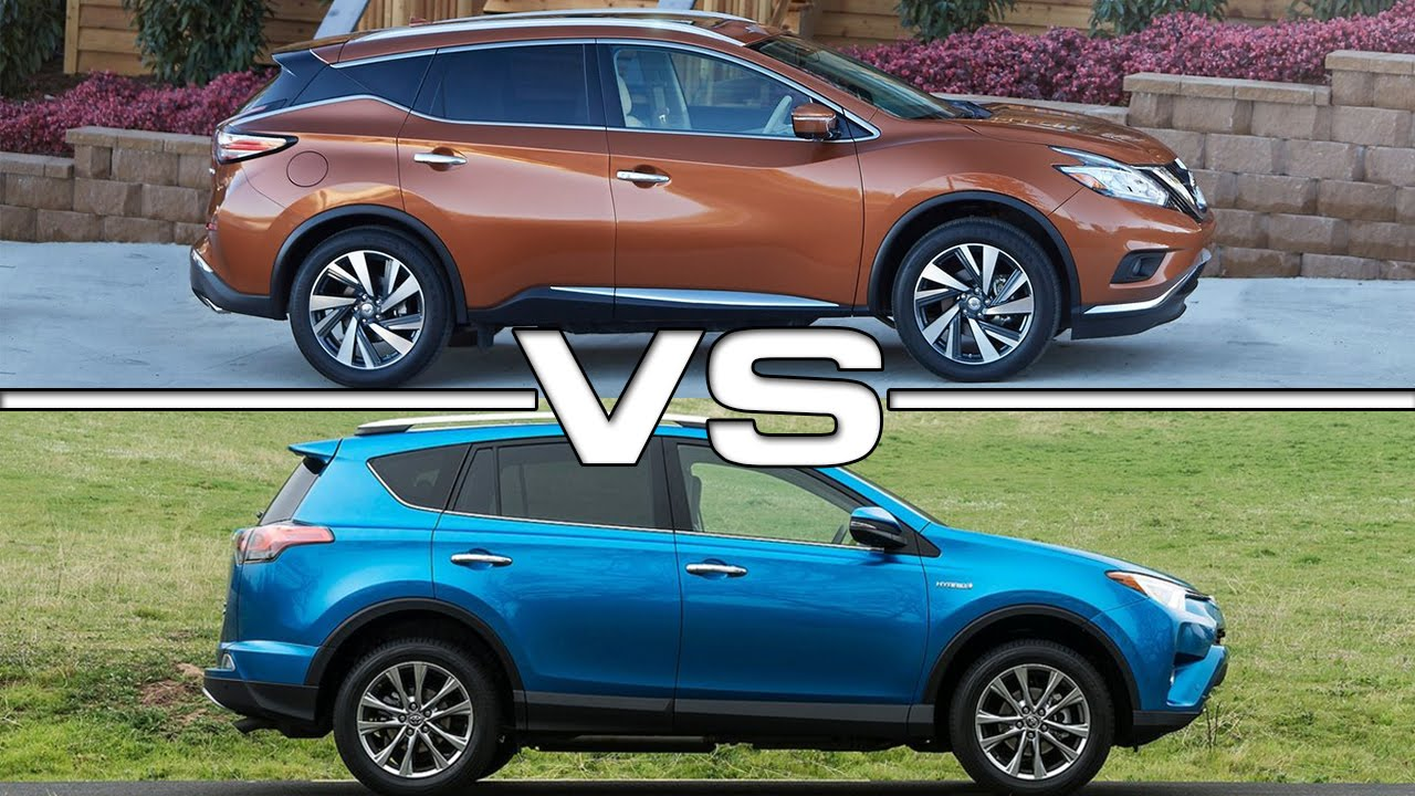 nissan murano vs toyota rav4 youtube. Black Bedroom Furniture Sets. Home Design Ideas