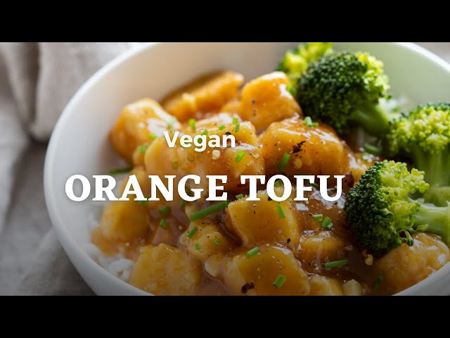 VEGAN ORANGE TOFU GF | Vegan Richa Recipes