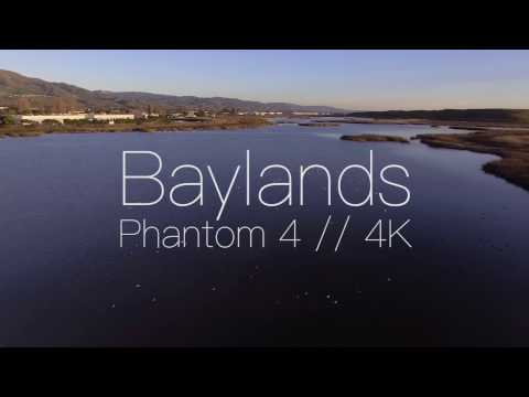 Phantom 4 - Baylands Estuary