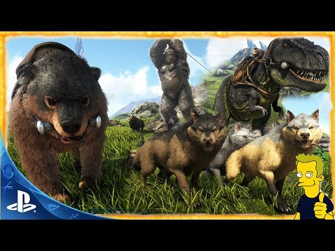 CONSOLE PS4 520.0 ARK TLC PHASE 1 & CREATIVE MODE ARK: Survival Evolved