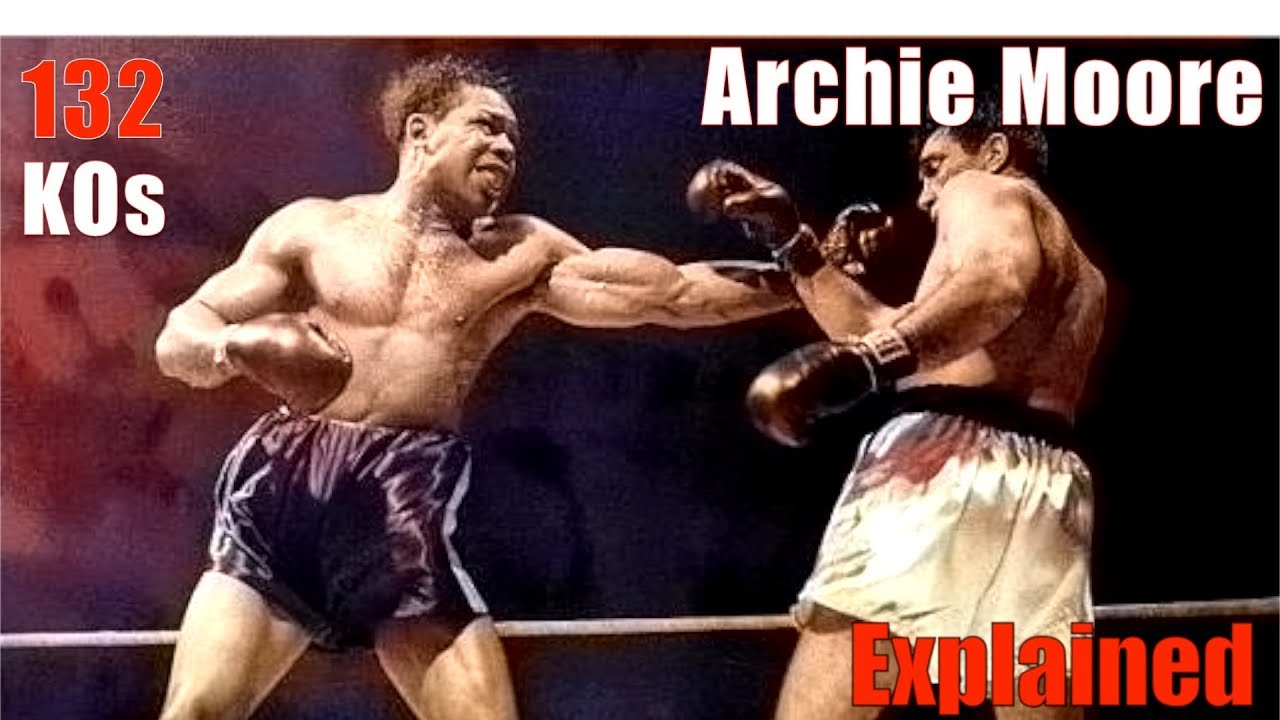 Archie Moore's 132 KO's & Crossed Guard Explained - The Old Mongoose  Technique Breakdown