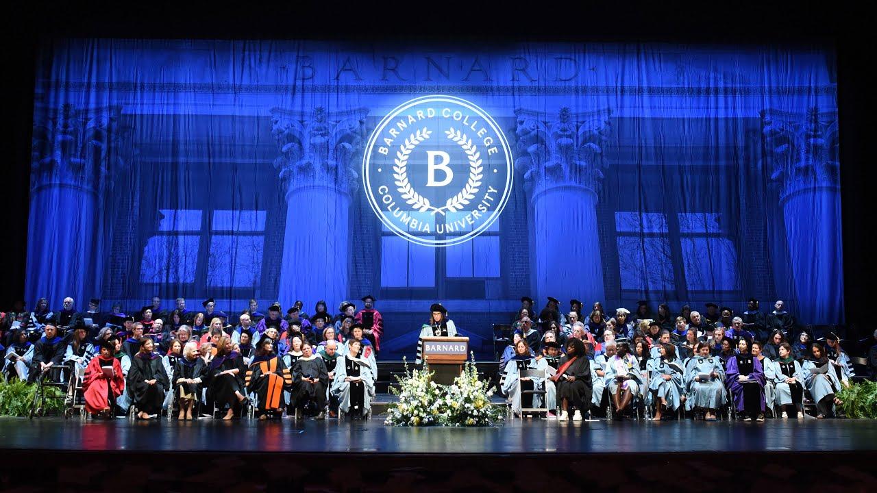 Barnard Graduation 2020.Commencement Barnard