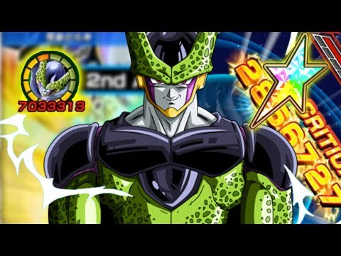 CELL E' PERFETTO! CELL TEQ EZA RAINBOW STAR SHOWCASE! Dragon Ball Z Dokkan Battle ITA