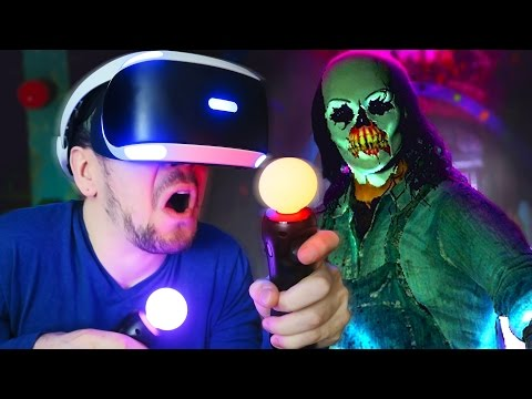 VIRTUALLY TERRIFIED | Until Dawn: Rush of Blood (Playstation VR)