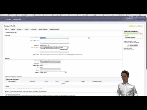 Ariba Supplier Information & Performance Management (SIPM) Demo with New UI