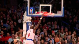 Quincy Acy Steals and Throws Down the Monster Facial