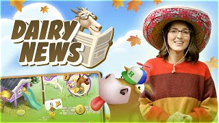 Hay Day Dairy News: Fall 2020 Update!