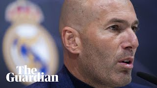 Zinedine Zidane leaves Real Madrid: 'it's strange but this is the right moment'