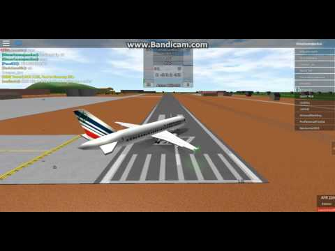 Air France , FULL FLIGHT , Dublin - Paris , (SAFETY VOICE) , ROBLOX