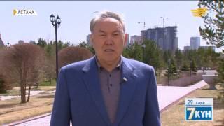 6. Елбасы Астанадағы бірқатар нысанды аралады