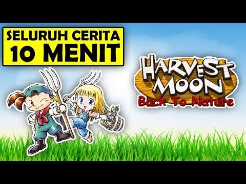 Seluruh Alur Cerita Harvest Moon Back to Nature Hanya 10 MENIT - Harvest Moon Boy & Girl