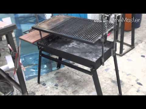 C mo hacer un asador tipo argentino paso a paso youtube - Como hacer un asador ...