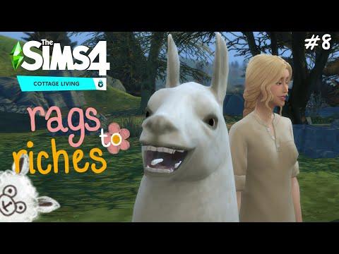 ใครไม่ลา...ลามะ(?) the sims 4 rags to riches (cottage living) ss.3 ep.8