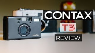 Contax T3 Review - in 4K | Analog Review | Best Compact Vintage Film Camera w/ Zeiss lens