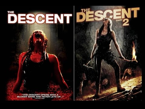 The Descent (2005) & The Descent: Part 2 (2009) - Movie Review - YouTube