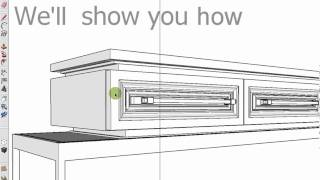 Designing A Piece Of Furniture In Less Than 2 Minutes Using Ddc For Sketchup