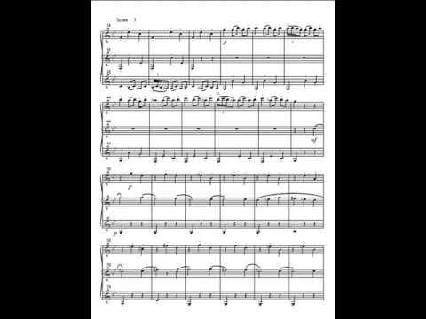 Saint Saens - Danse Macabre set for clarinet trio