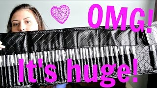 bh cosmetics huge brush set super cheap   first impressions