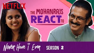 @Aishwarya Mohanraj  & Dad React To Never Have I Ever Season 2