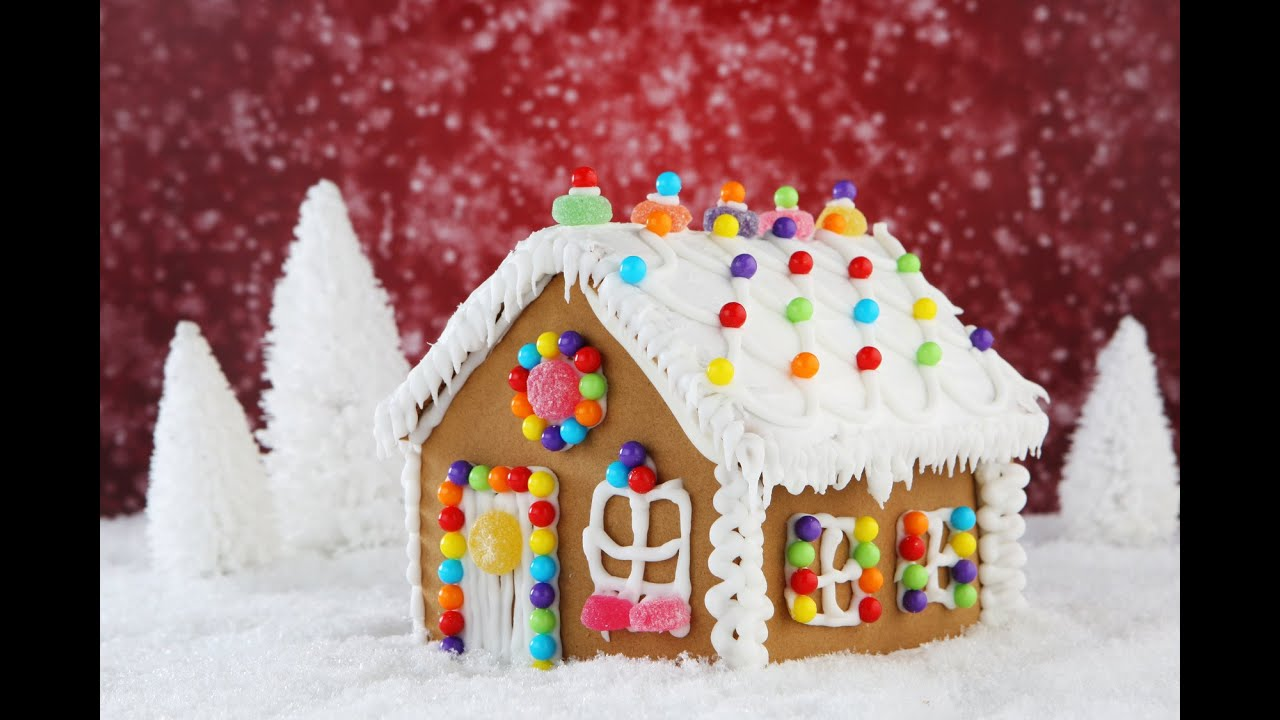 how to make a gingerbread house youtube ForHow Do You Make A Gingerbread House