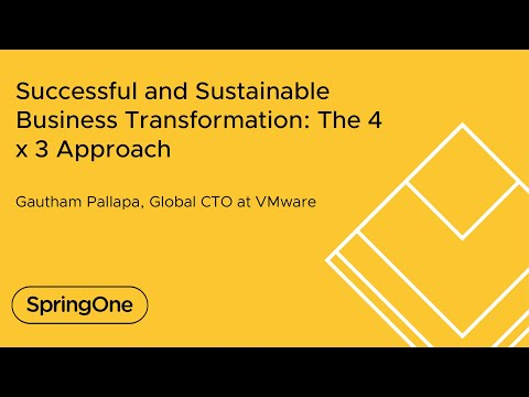 Successful and Sustainable Business Transformation: The 4 x 3 Approach