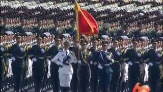 [English Version] China's 60th National Day Military Parade - 1. Troop Formation 1/2
