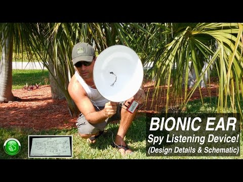 How To Make A Spy Listening Device!