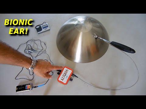 Amazing Parabolic Spy Listening Device(FULL Design Details)
