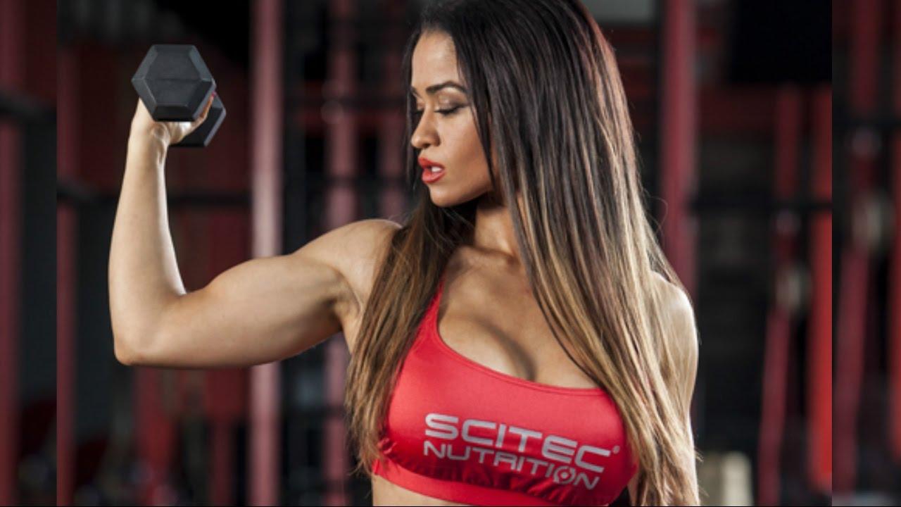 fitness workout Bikini Olympia - Valeria Ammirato
